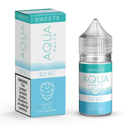 Aqua eJuice SALTS - Blue Razz - CravingVapes