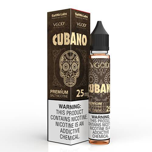VGOD and SaltNic eJuice - Cubano - CravingVapes