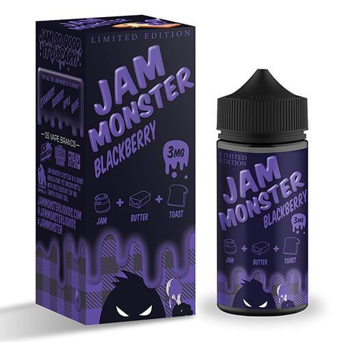 Jam Monster eJuice - Blackberry (Limited Edition) - CravingVapes