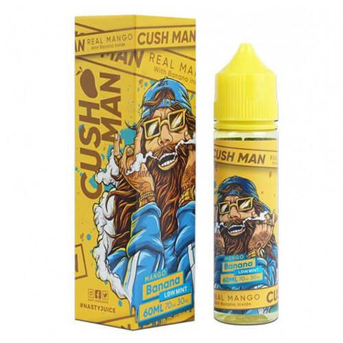 Cush Man Series by Nasty Juice - Mango Banana - CravingVapes