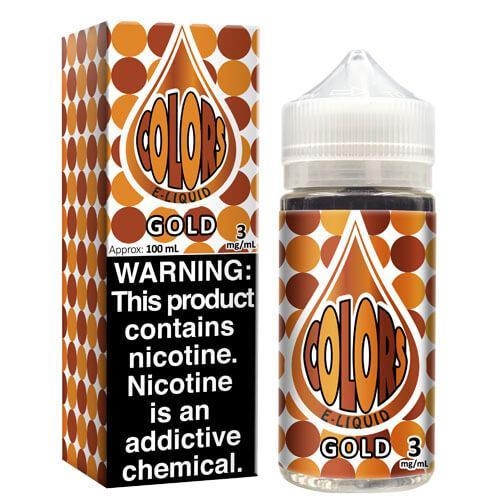 Colors eLiquid - Gold - CravingVapes