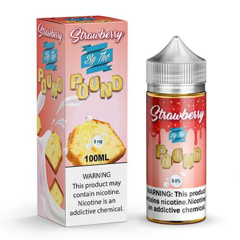 By The Pound E-Liquid - Strawberry - CravingVapes