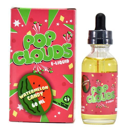 Pop Clouds E-Liquid - Watermelon - CravingVapes