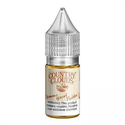 Country Clouds Salt - Banana Bread Puddin' - CravingVapes