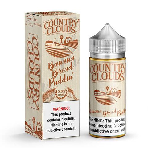 Country Clouds - Banana Bread Puddin' eJuice - CravingVapes