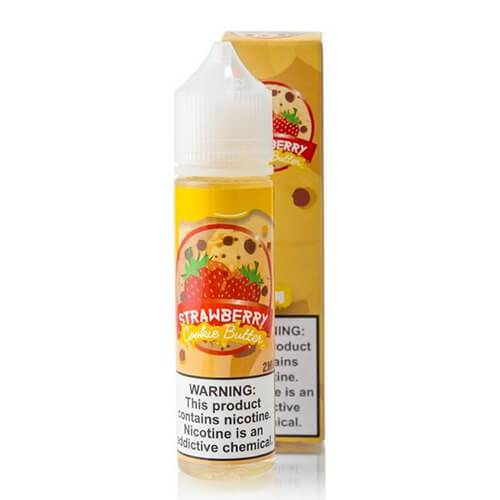 Vaper Treats - Strawberry Cookie Butter E-Juice - CravingVapes