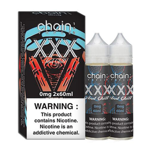 Chain Vapez eJuice - XXX and Chill - CravingVapes