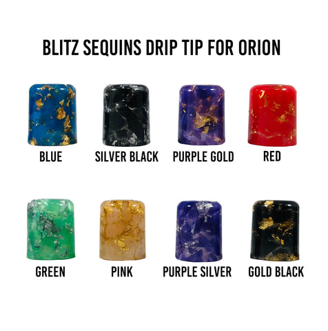 Blitz Sequins Orion Drip Tip - CravingVapes
