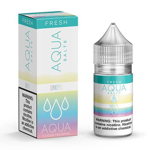Aqua Fresh eJuice SALTS - Drops - CravingVapes