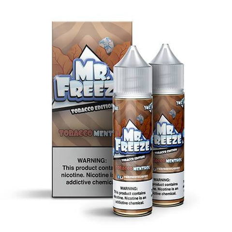 Mr. Freeze eLiquid Tobacco Edition - Tobacco Menthol - CravingVapes