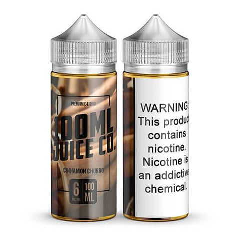 100ml Juice Co - Cinnamon Churro - CravingVapes