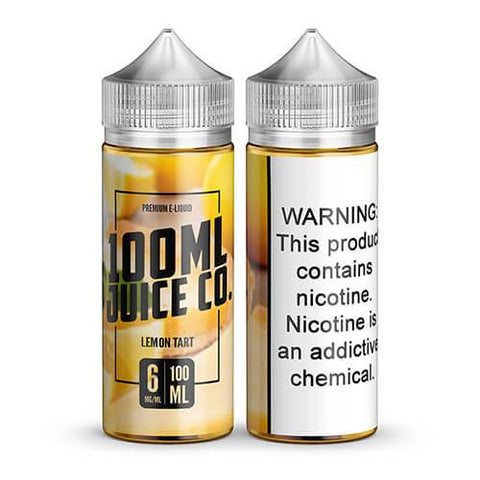 100ml Juice Co - Lemon Tart - CravingVapes