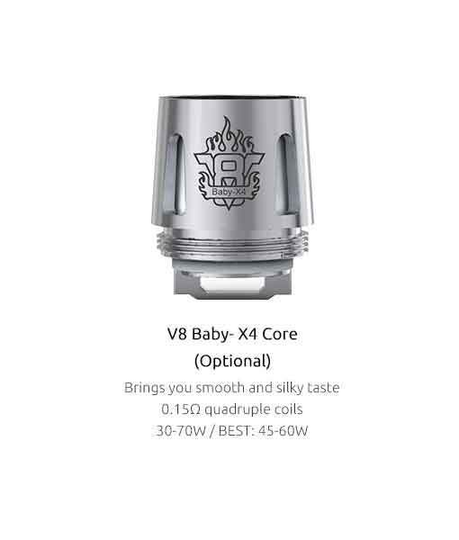 SMOK TFV8 Baby Coils 5-Pack - CravingVapes
