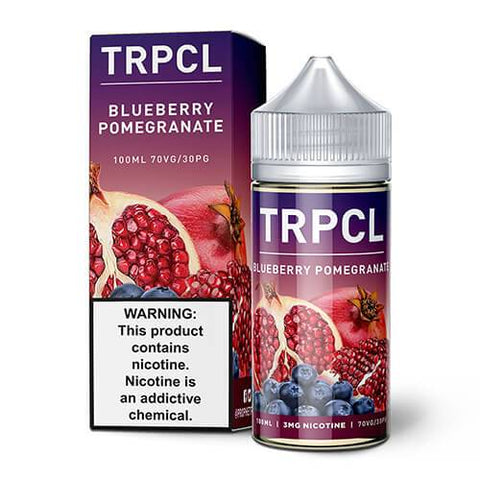 TRPCL 100 eJuice - Blueberry Pomegranate - CravingVapes