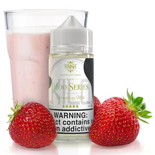 Kilo eLiquids Moo Series - Strawberry Milk - CravingVapes