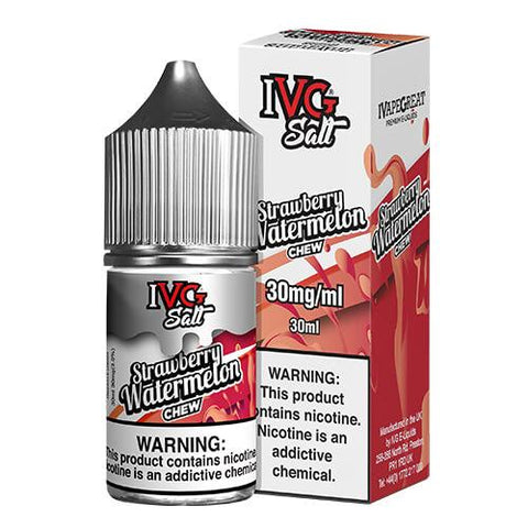 IVG Premium E-Liquids Salts - Strawberry Watermelon Chew - CravingVapes