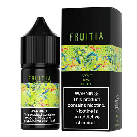 Fruitia eJuice SALTS - Apple Kiwi Crush - CravingVapes