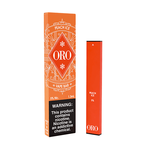 Oro - Disposable Vape Device - Peach Ice - CravingVapes