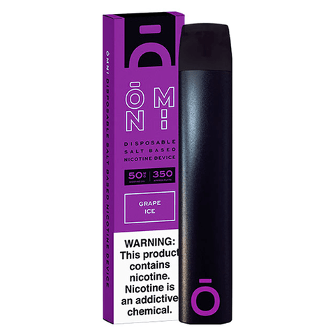 Omni - Disposable Vape Device - Grape Ice - CravingVapes