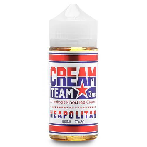 Cream Team - Neapolitan eJuice - CravingVapes