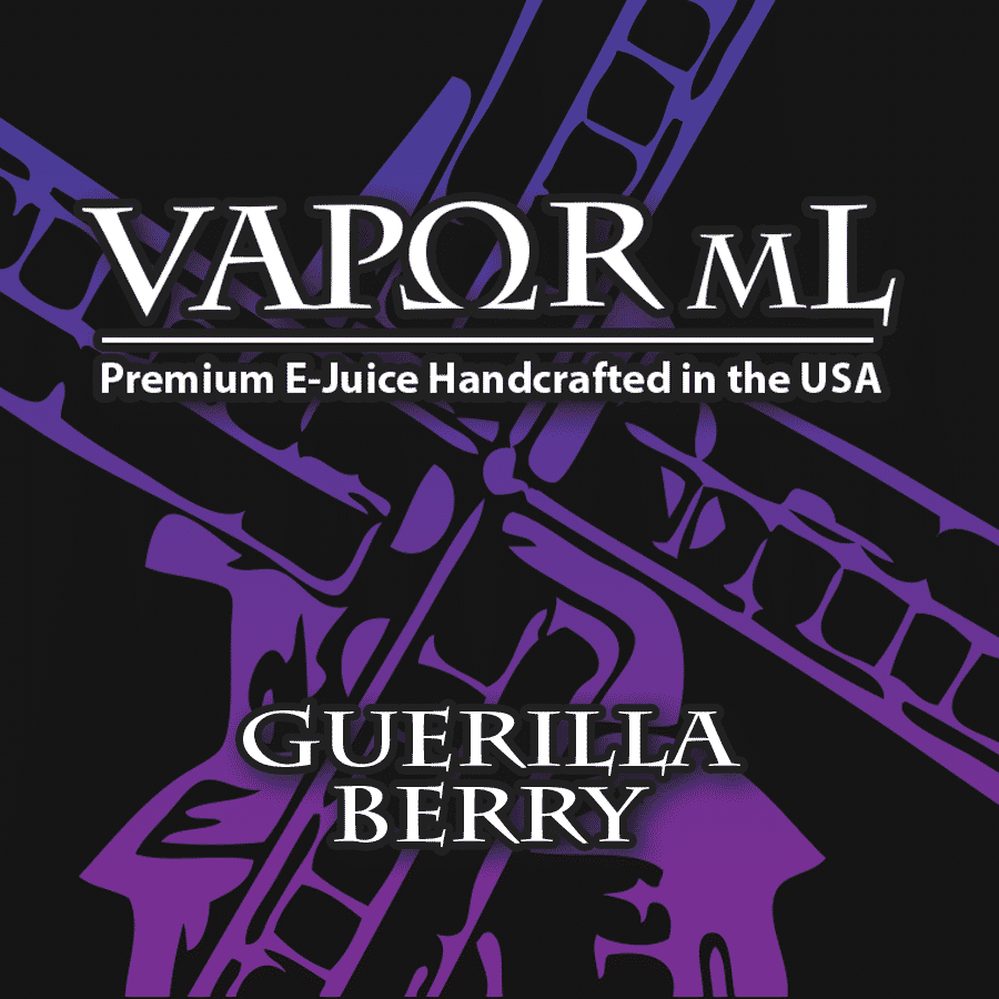 Vapor ML - Guerilla Berry - CravingVapes