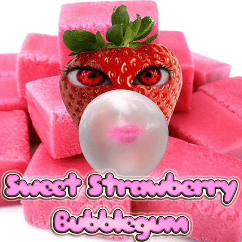 CravinVapes - Sweet Strawberry Bubblegum