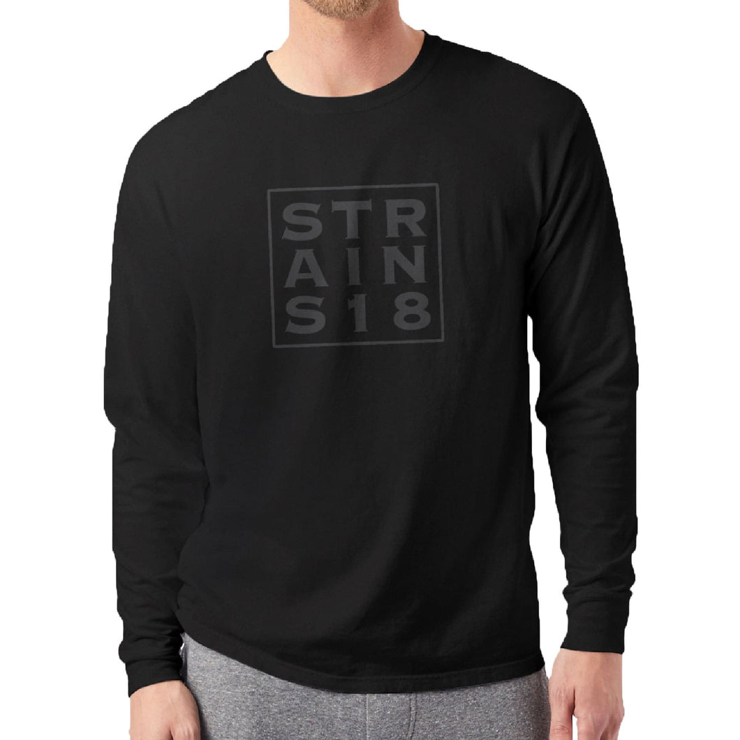 Stacked Men's Strains Long Sleeve T-Shirt