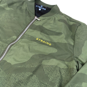 Green Camo Haze Jacket