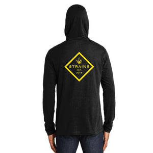 Strains Tri-Blend Performance Pullover Hoodie Tee