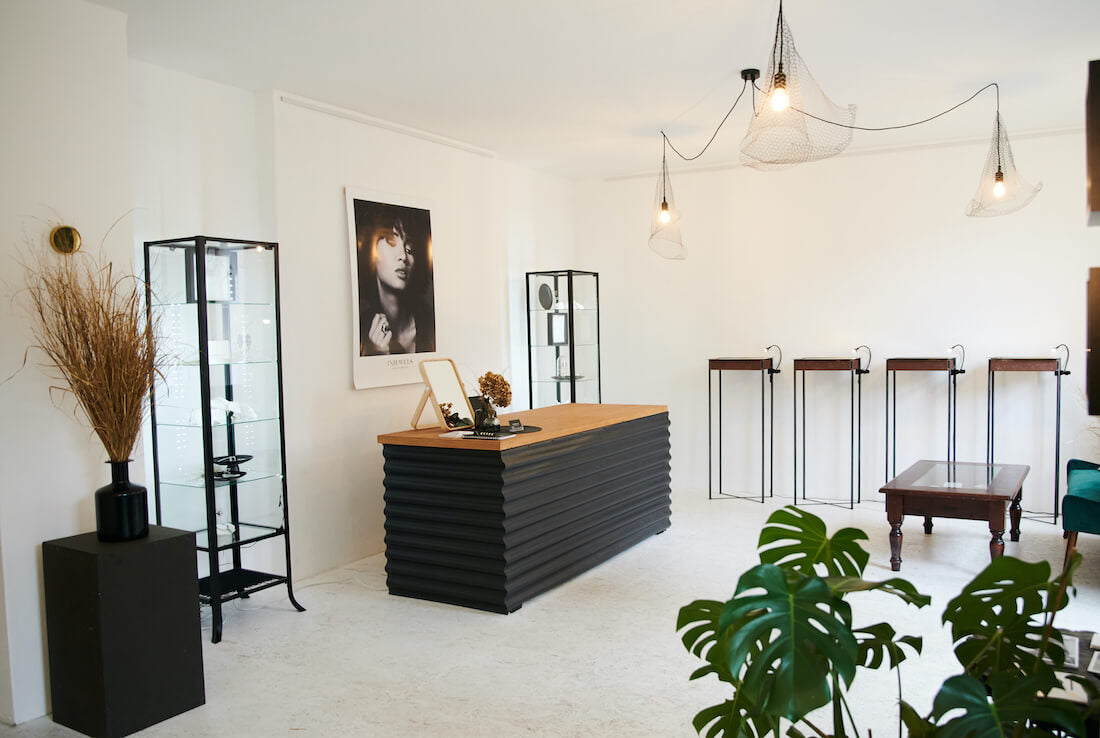Showroom von InJewels in Berlin