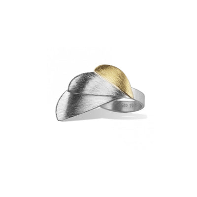 "Silber und Gold Ring ""Ales"" - Majoral - InJewels Berlin"