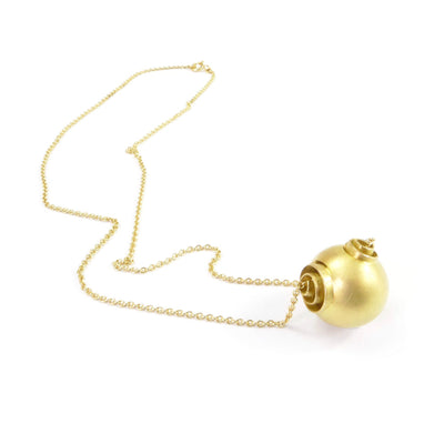 "Gold Kette ""Sphere"" by Antje Porzig - InJewels"