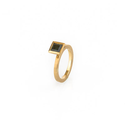 "Gold Stacking Ring ""Flic Flac"" by Antje Porzig - InJewels"