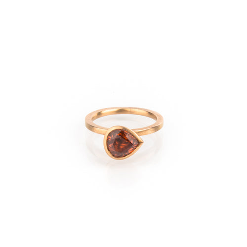 Rotgold Stacking Ring