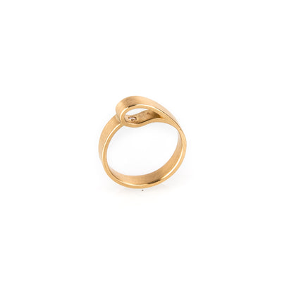 "Gold Verlobungsring ""Secret Diamond"" by Antje Porzig - InJewels"