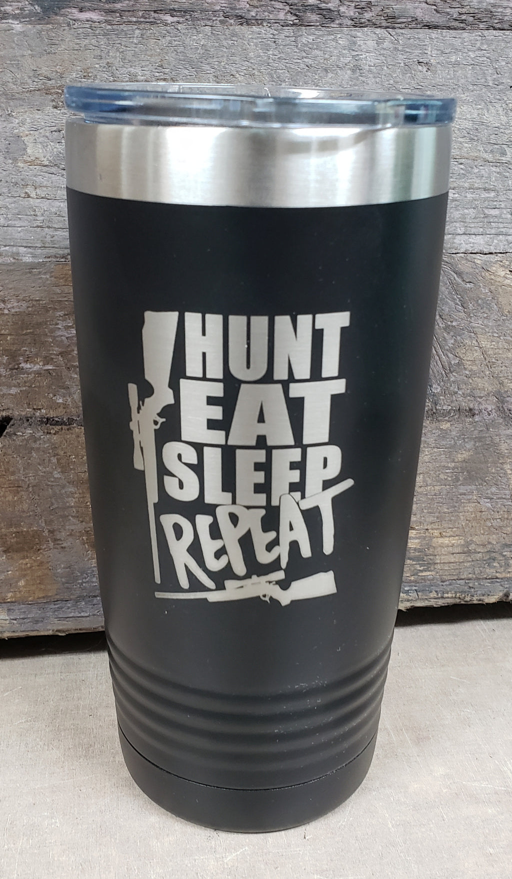 Hunt, Eat, Sleep, Repeat Tumbler - Simply Susan's