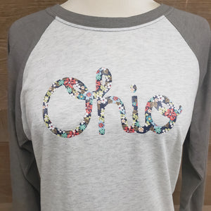 Allison Ohio Script Baseball T-Shirt