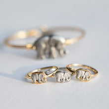 Load image into Gallery viewer, Two Tone Elephant Ring