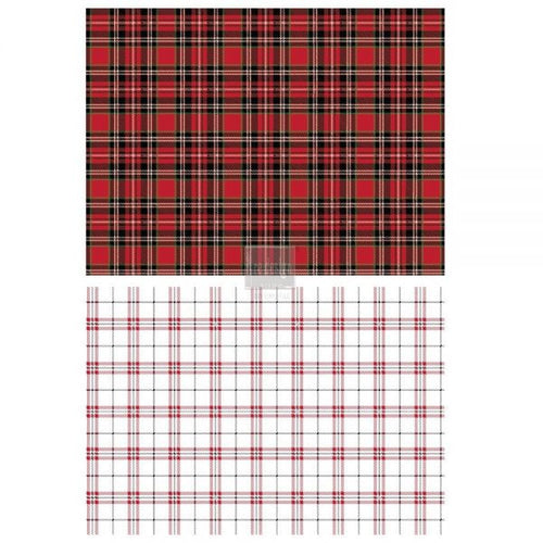 REDESIGN DÉCOR TRANSFERS® – GINGHAM RED SIZE 23″X 33″ - Simply Susan's