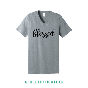 Blessed V Neck T-Shirt