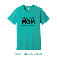 Load image into Gallery viewer, Every Great Mom Crew Neck T-Shirt