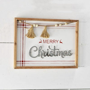 "16"" MERRY CHRISTMAS SIGN"