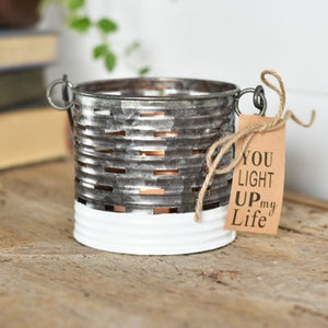 "4"" VENT TIN CAN"