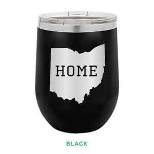Home Ohio 12oz Wine Tumbler