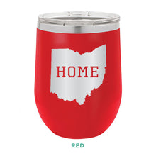 Load image into Gallery viewer, Home Ohio 12oz Wine Tumbler