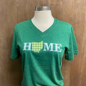 Ike Home Ohio V-Neck Short Sleeve T-Shirt