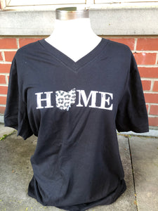 Home Ohio Short Gray Animal Sleeve T-Shirt