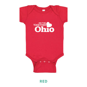 In This Together Ohio Onesie - Simply Susan's