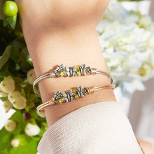 Load image into Gallery viewer, Butterfly Medley Bangle Bracelet - Simply Susan's