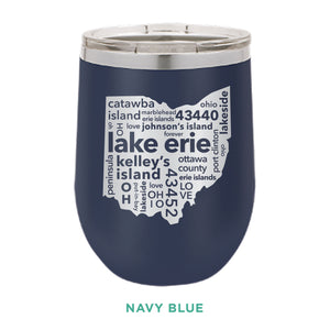 Lake Erie 12oz Wine Tumbler